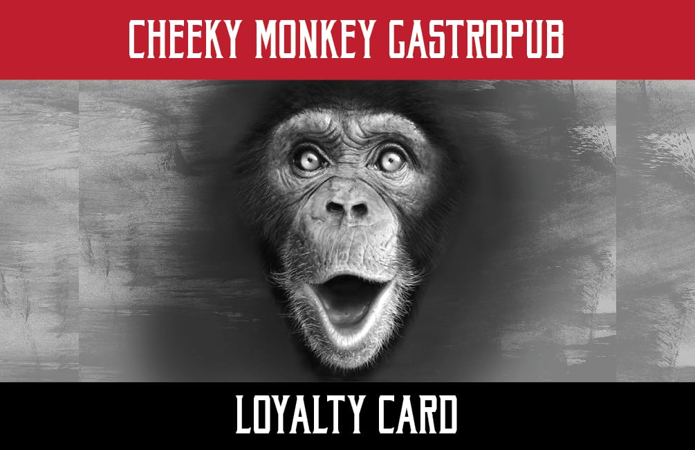 Cheeky Monkey - Loyalty Card